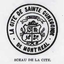 sceau de la cité de Sainte-Cunégonde