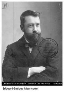 Édouard-Zotique Massicotte. Archives de l'Université de Montréal.