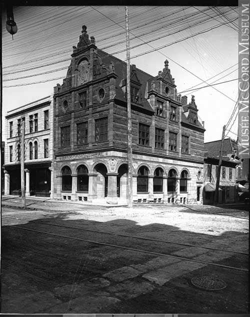 Ancienne succursale des Seigneurs de la Banque de Montréal