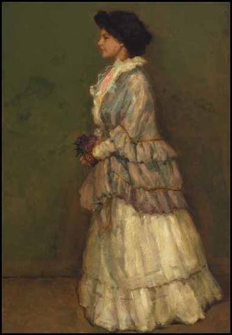 Evelina, vers 1910. Huile sur toile