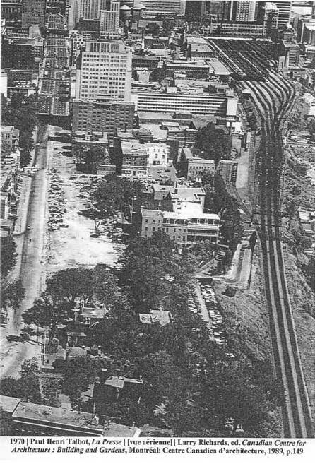 Rue Dorchester en 1970