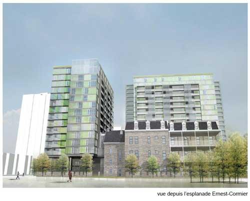 Proposition pour le projet du 1800 boulevard René-Lévesque ouest par le Groupe Pacific