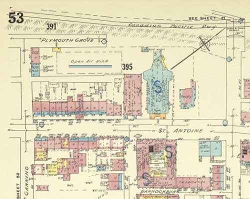 Plan de Montréal daté de 1957